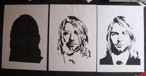 Kurt Cobain - Cut Stencil