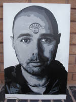 Karl Pilkington - Stencil Art by RAMART79
