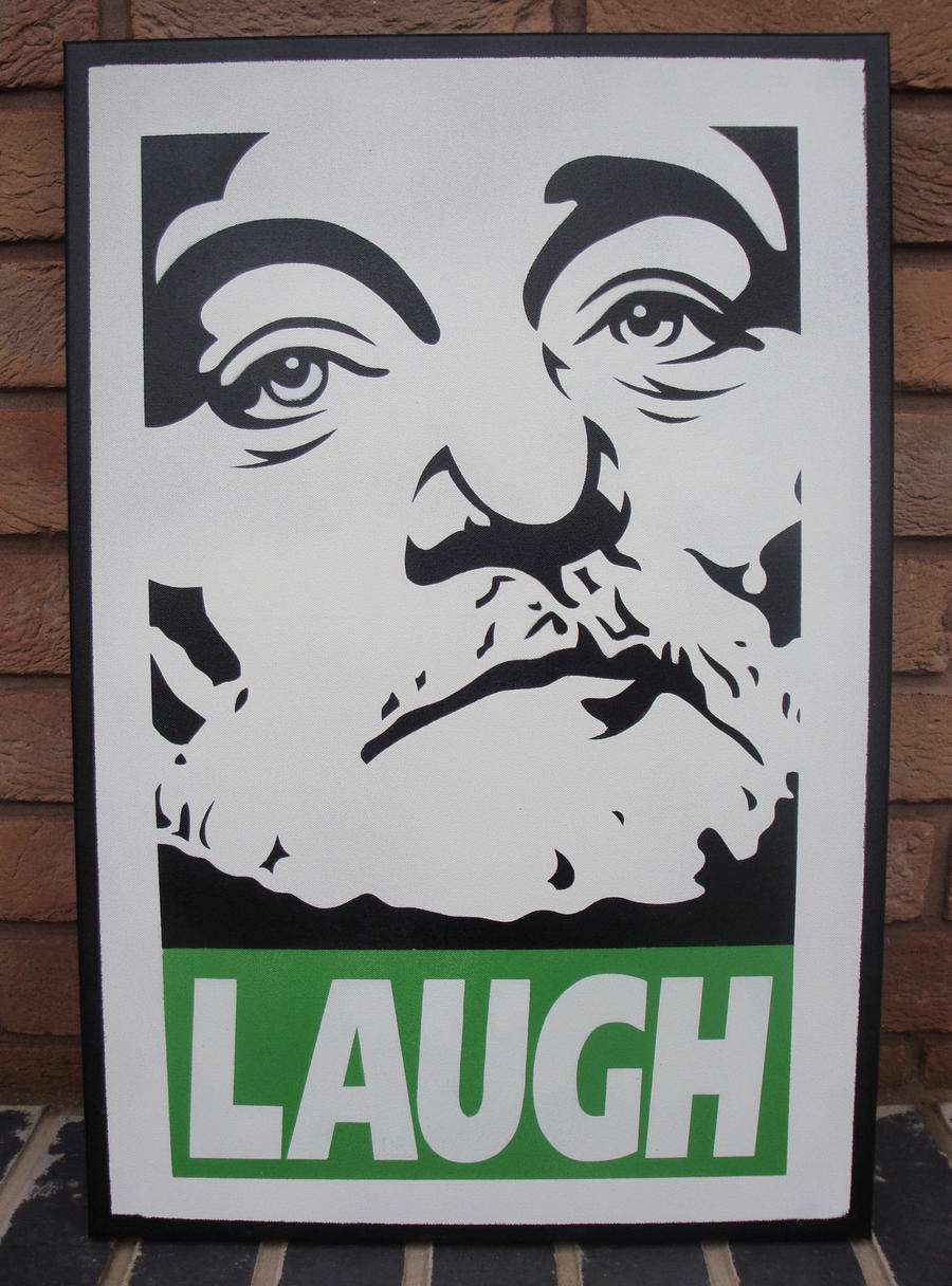 bill murray spraypaint stencil canvas chive on by