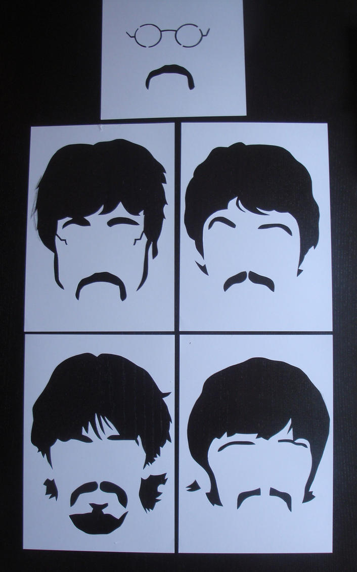 beatles stencil by heinpold - photo #16