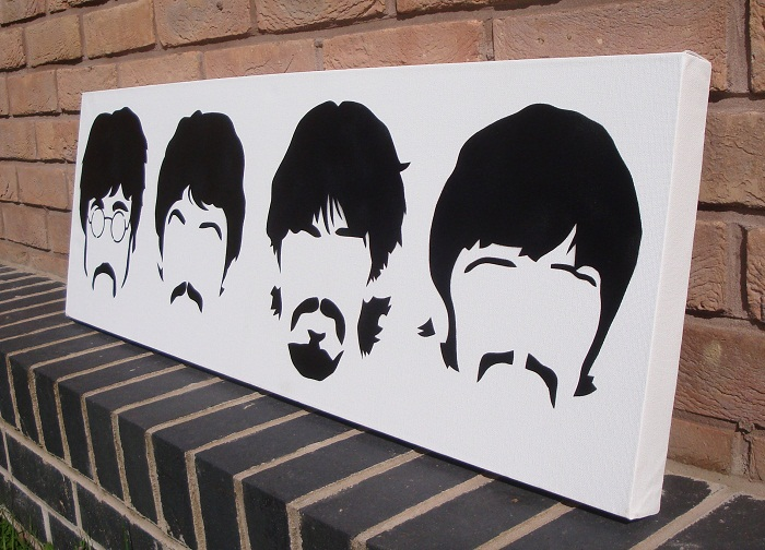 beatles stencil by heinpold - photo #26