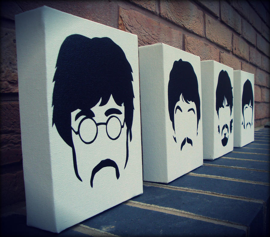 Spray Paint Stencils : The beatles sgt peppers stencil spray paint by ramart