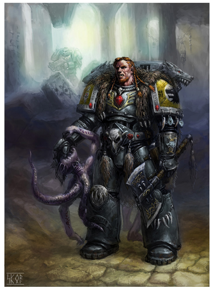 Space Wolves by skor2d on deviantART