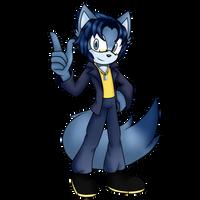 Kuron the Cat (DarkCloudVA) {Fully Colored}