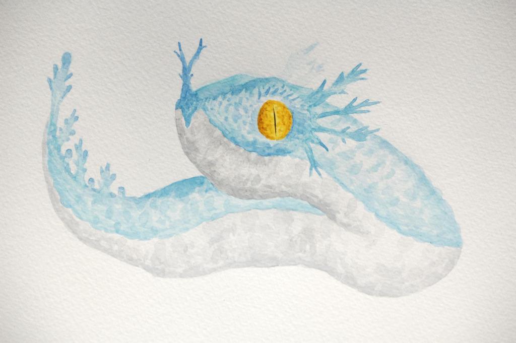 Sea Wyrm. by DagonArt