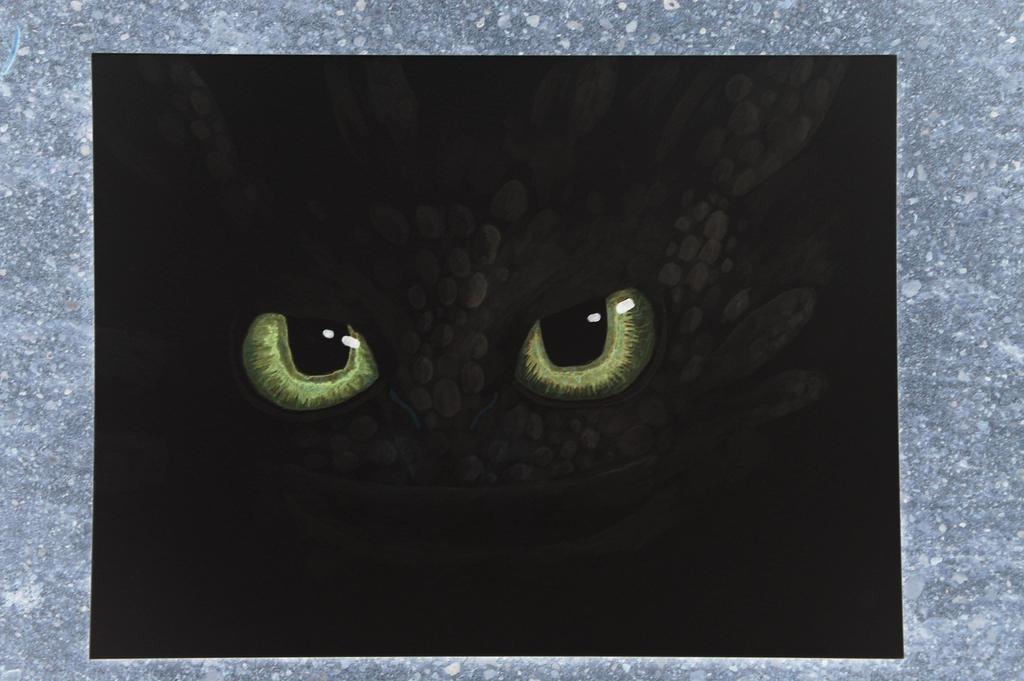 Toothless. by DagonArt
