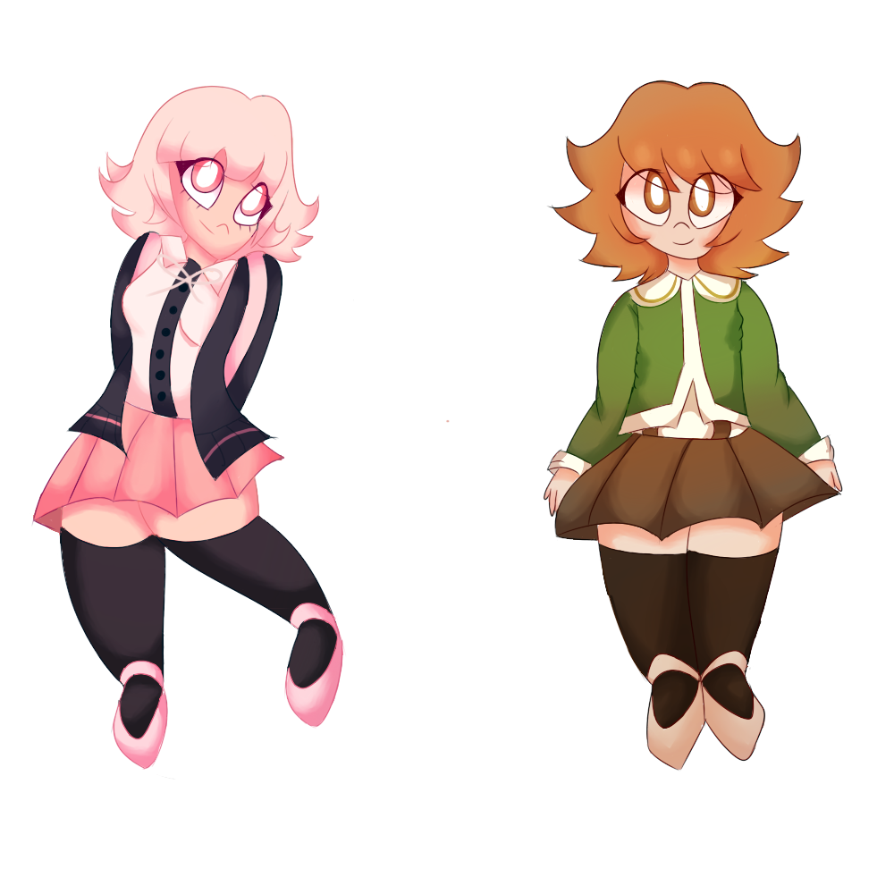 Happy Birthday - Chiaki and Chihiro by vanil-la