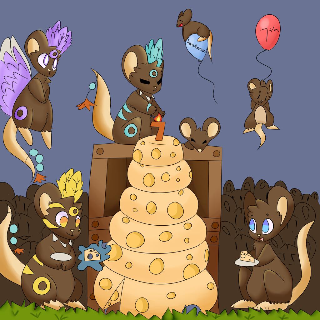 Happy Birthday Transformice! by vanil-la