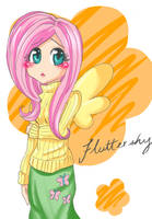 Fluttershy by Anonator