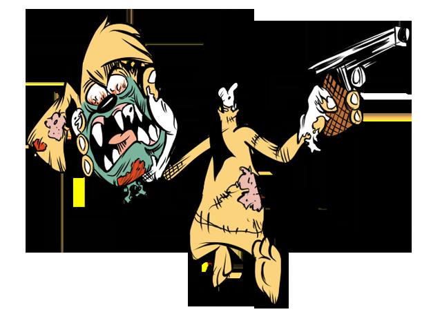 Zombie Seth by luismario