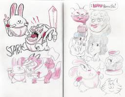 Sketch Bunch 32 by luismario