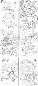 Sketch Bunch 35