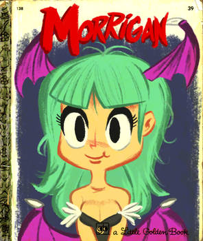 Morrigan's Little Golden Book