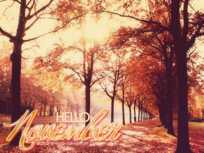[Wallpaper #4] Hello November By Sandrareina ...