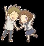 [Render #32] Mayaka Ibara and Satoshi Fukube
