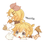 [Render #62] Kagamine Twins