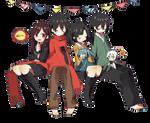 [Render #71] Ayano, Shintarou, Takane and Haruka