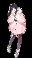 [Render #72] Anime Girl by sandrareina