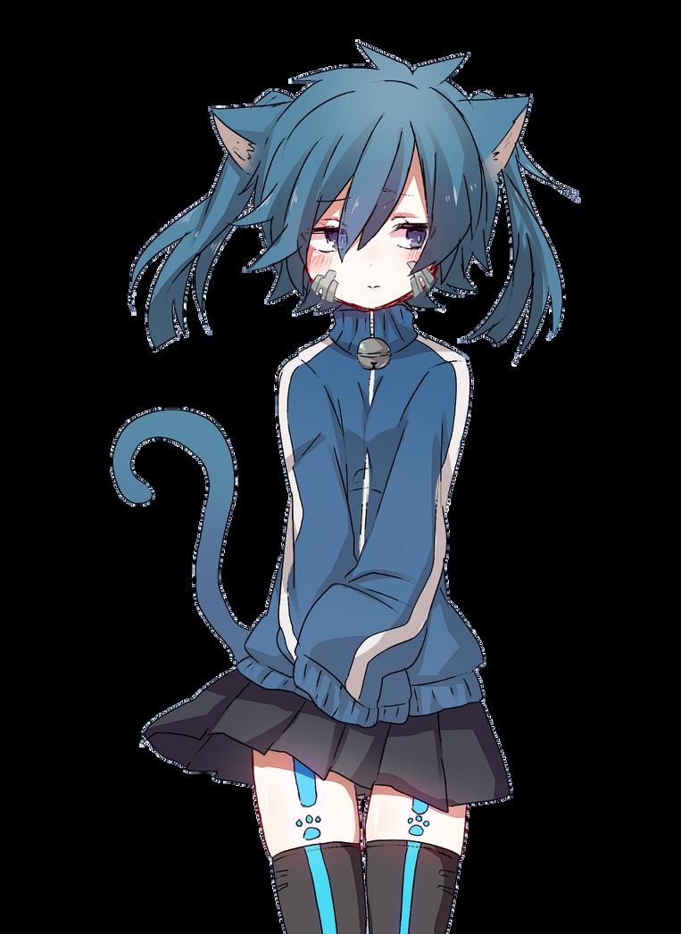 [Render #105] Ene Cat by sandrareina