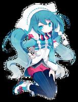 [Render #132] Hatsune Miku by sandrareina