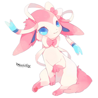 [Render #137] Sylveon by sandrareina
