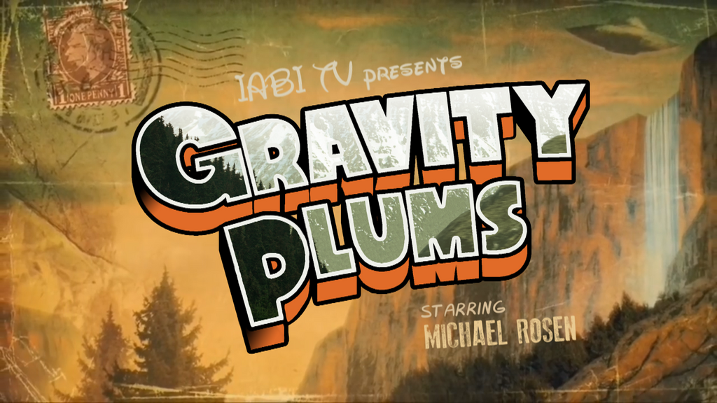 Gravity Plums titlecard by PencilFromCydonia