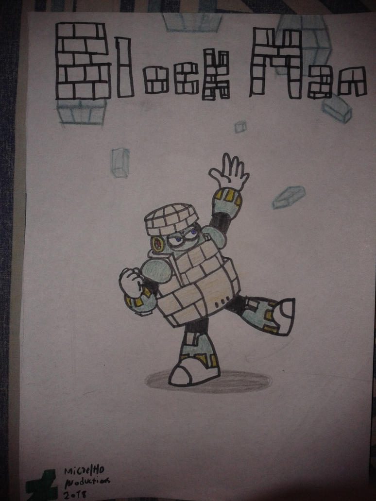 Block Man by MicaelHD