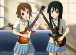 Yui and Mio - After School