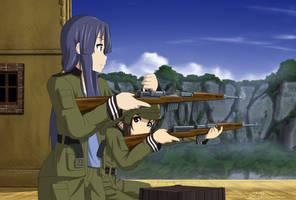 Sora No Woto - Gewehr 43s by xZDisturbedZx
