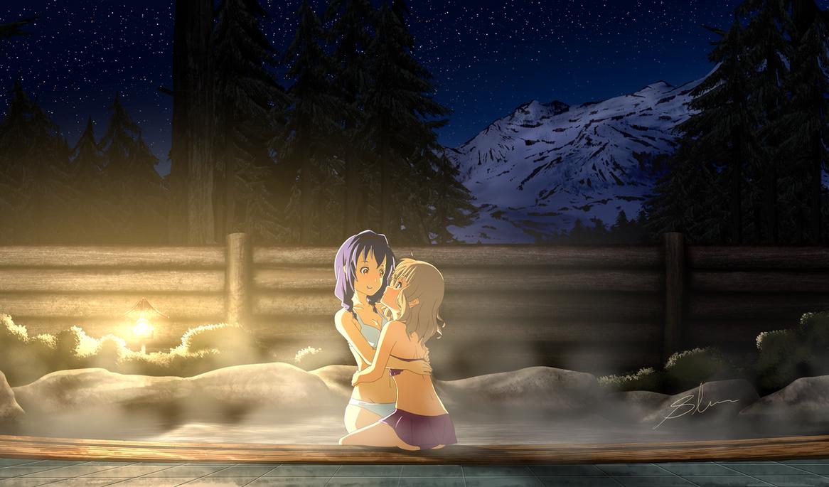 Yuru Yuri - Winter Warmth by xZDisturbedZx
