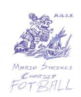 Mario Strikes Charged Football by saurabhkhirwal