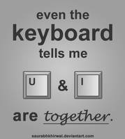 the keyboard says by saurabhkhirwal