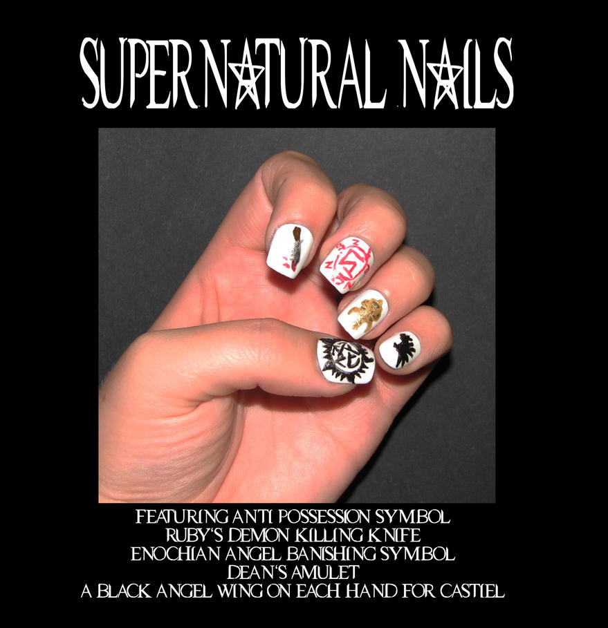 Supernatural nails by stephanie chivas on deviantart supernatural nails by stephanie chivas biocorpaavc Gallery