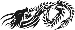 tribal dragon 2 by jhin22000