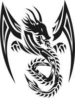 tribal dragon 3 by jhin22000