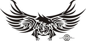 tribal eagle by jhin22000
