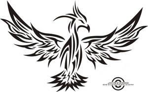 tribal phoenix 2 by jhin22000
