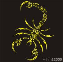 tribal scorpion 05.08 by jhin22000