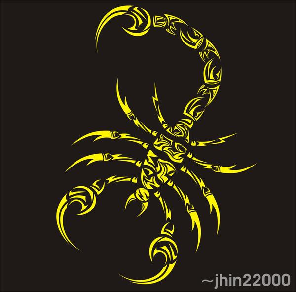 Tribal Scorpion 0508 By Jhin22000