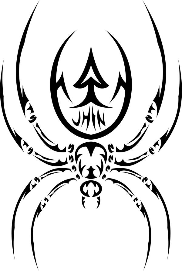 tribal spider 1 by jhin22000 on DeviantArt