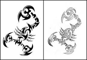 scorpion assassin by jhin22000