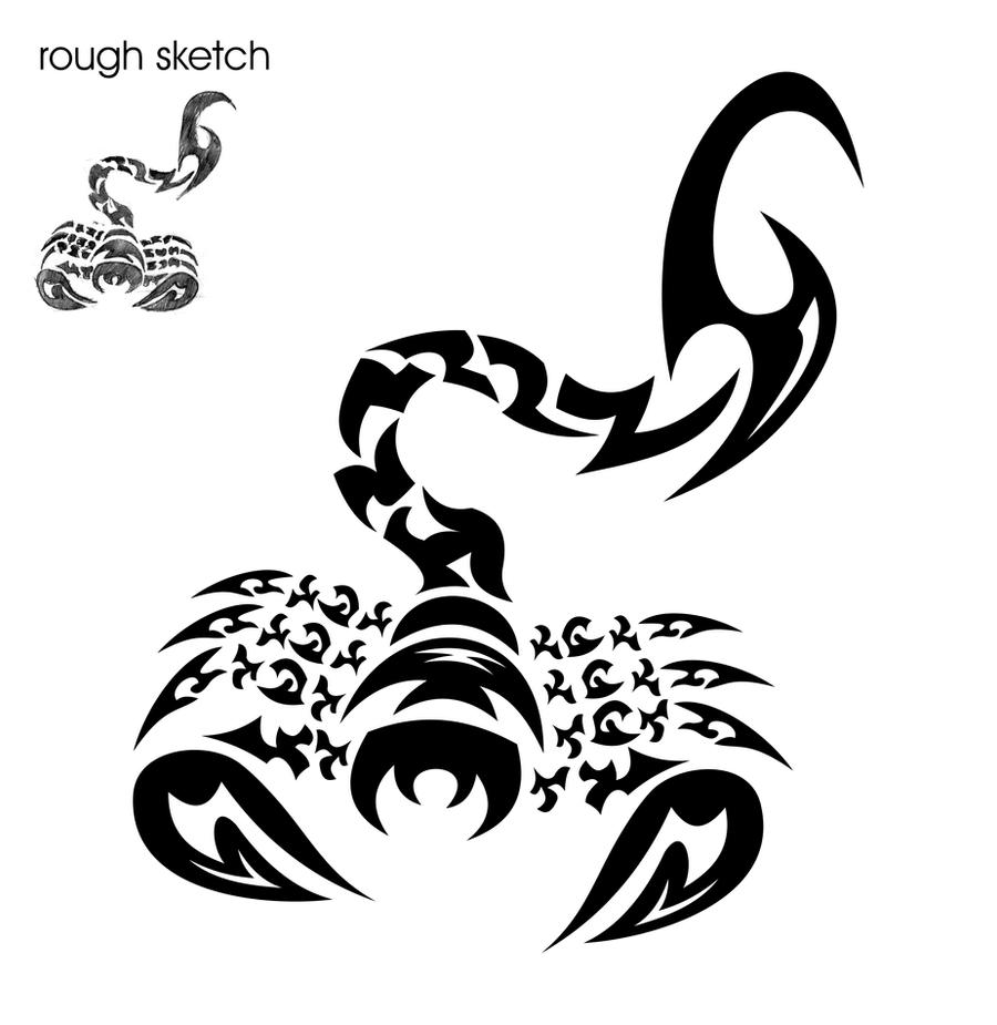 18 Stunning Tribal Scorpion Tattoo: Tribal Scorpion 07.03.10 By Jhin22000 On DeviantArt
