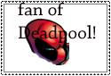 Deadpool stamp by weirdofreako17