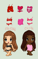 |Fifty Shades of Red | Valentines Day Pack | by Fantage-Chibi