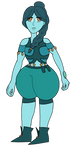 Turquoise OC by TheFriccWord