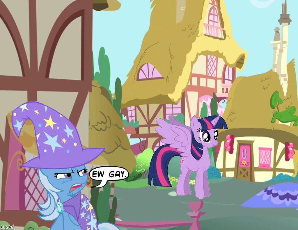 My reaction to Alicorn Twilight by TrixieLulamoon11