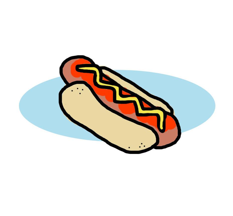 Doodle24-Hotdog by AnUnimaginaryKid
