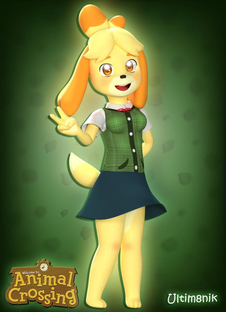 Isabelle Animal Crossing By Ultimate Nik On Deviantart