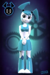 XJ9 / My life as a teenager robot by Ultim8Nik
