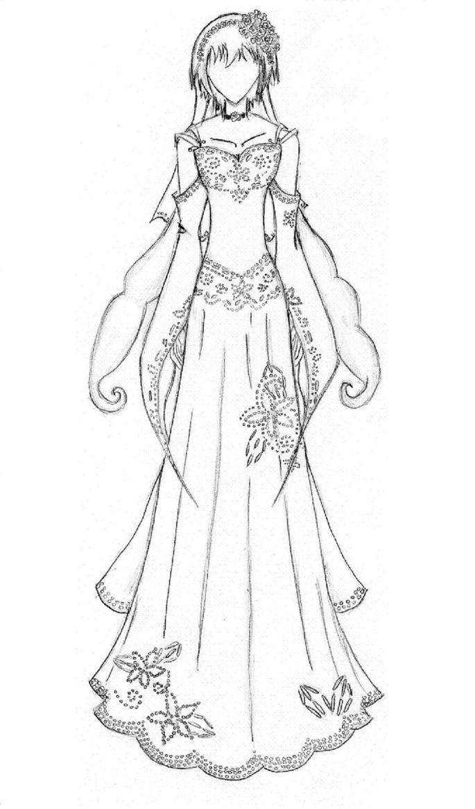 Wedding Dress By AkariYuu On DeviantArt